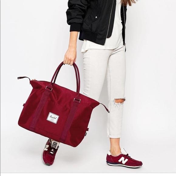 5248552c81 Herschel Supply Company Handbags - Black Herschel Co Strand Duffle Bag